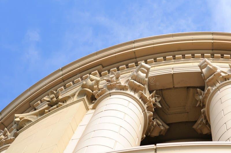 utsmyckat torn för detalj royaltyfria bilder