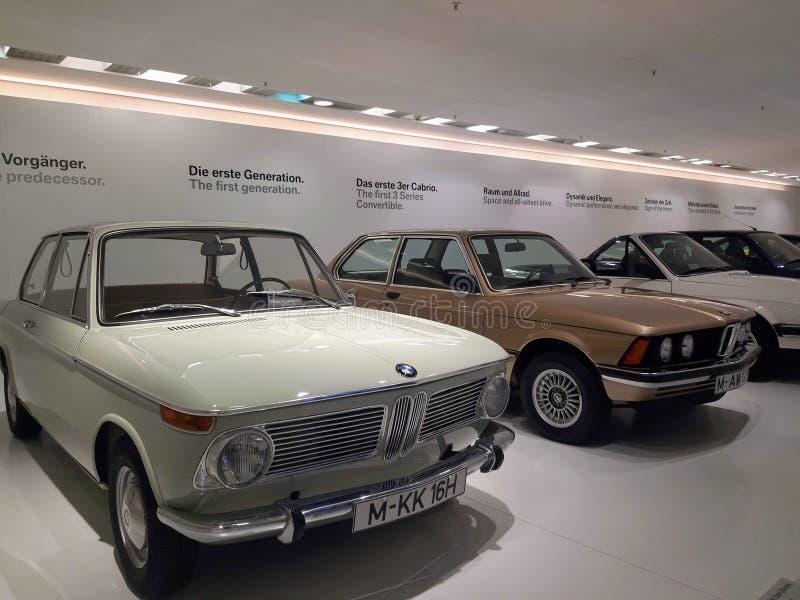 Utställning för gamla bilar i Tyskland, BMW royaltyfri fotografi