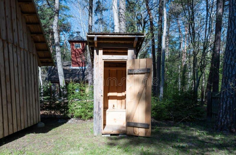 Utställning för museum Estland för öppen luft royaltyfri foto