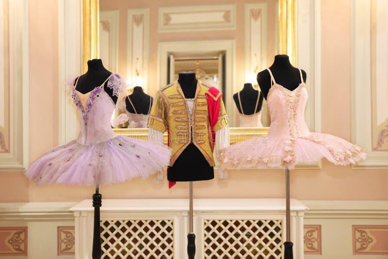 Utställning från museet av den Bolshoi teatern En unik coll arkivfoton