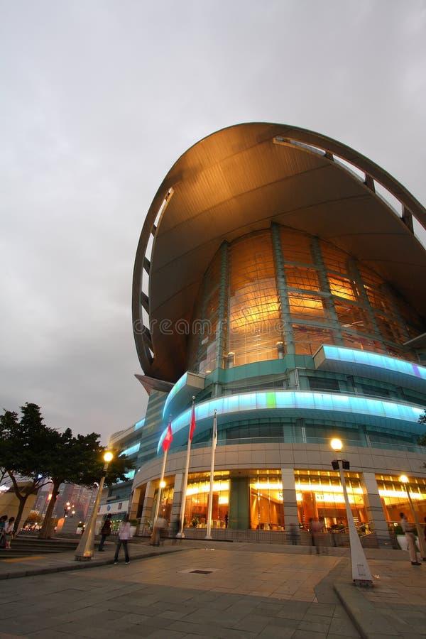 utställning Hong Kong för regel centre2 arkivbild