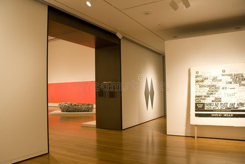 Seattle konstmusem fotografering för bildbyråer