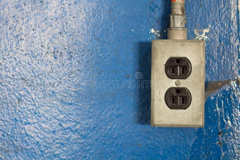 uttag för makt 220-volt arkivfoto