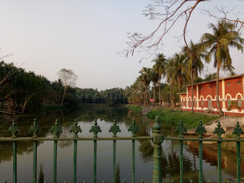 Uttara gono vobon, Natore. This is a very Historical place in Bangladesh stock images