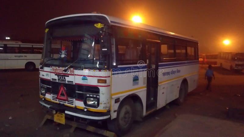 Uttarakhand bus. Photo royalty free stock photography