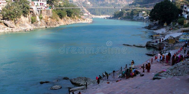 Uttarakhand de Rishikesah photographie stock
