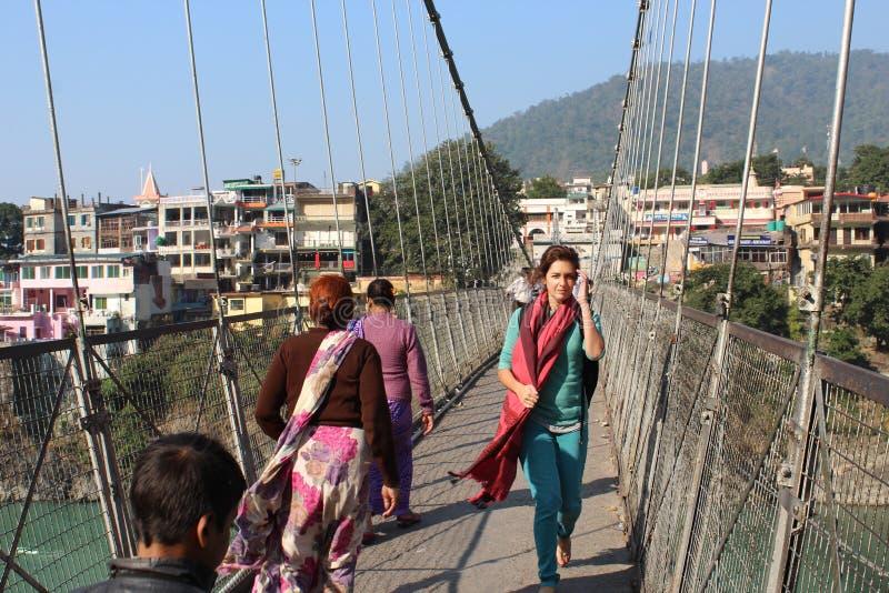 Uttarakhand de Rishikesh photographie stock