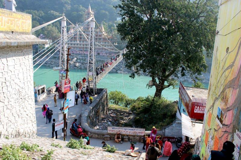 Uttarakhand de Rishikesh image libre de droits