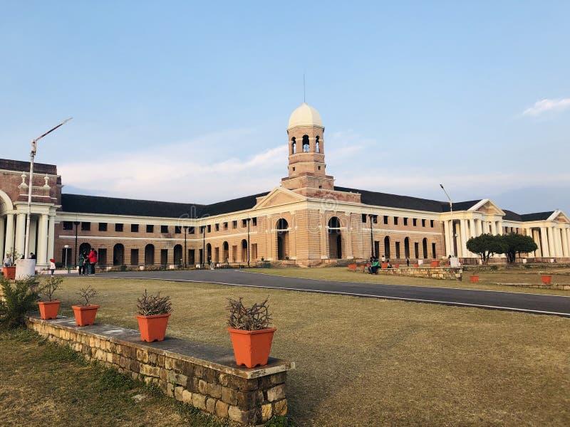 Uttarakhand India di Dehra Dun di vista dell'abete immagine stock libera da diritti