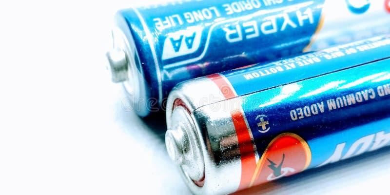 Utter Pardesh / India - Electrical Battery , A image of Battery in noida june 18 2019 royaltyfri foto