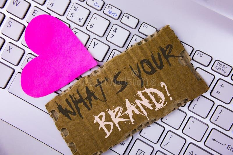 Uttrycka handstiltext vad är din märkesfråga Affärsidé för att fråga om din företagsproducent eller modell som är skriftliga på t royaltyfria bilder