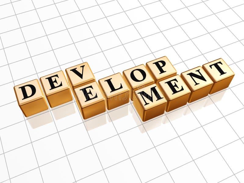 utveckling vektor illustrationer