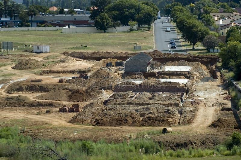 utvecklingshus arkivbild