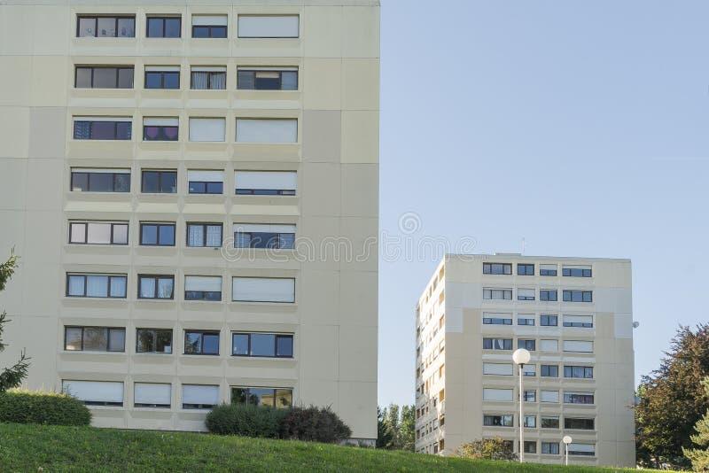 Utvecklingskvarter royaltyfri bild