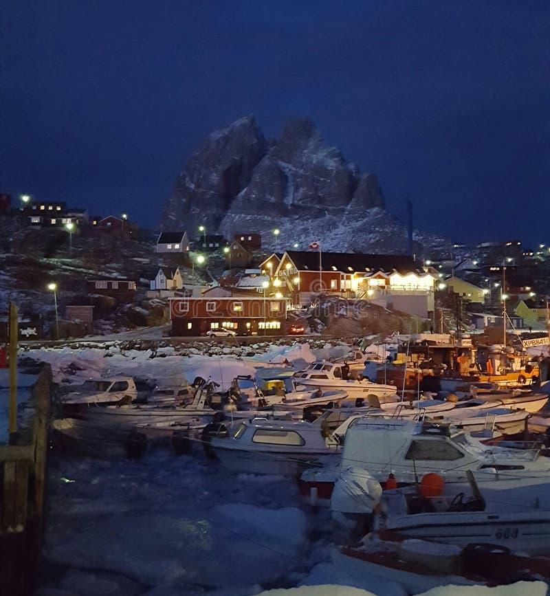 Uummannaq fotografia stock libera da diritti