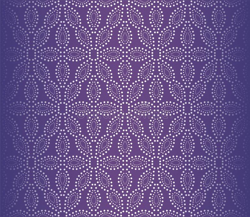 UV διαστιγμένη διανυσματική απεικόνιση ταπετσαριών λουλουδιών κατασκευασμένη διανυσματική απεικόνιση