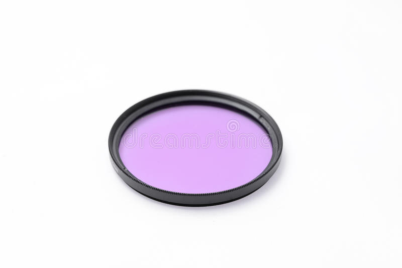 UV φίλτρο για το φακό καμερών στοκ εικόνες