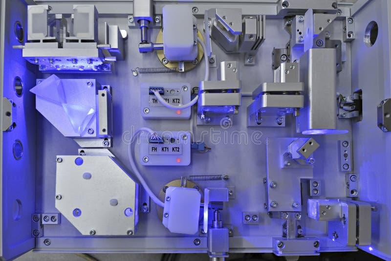 Uv laser stock image