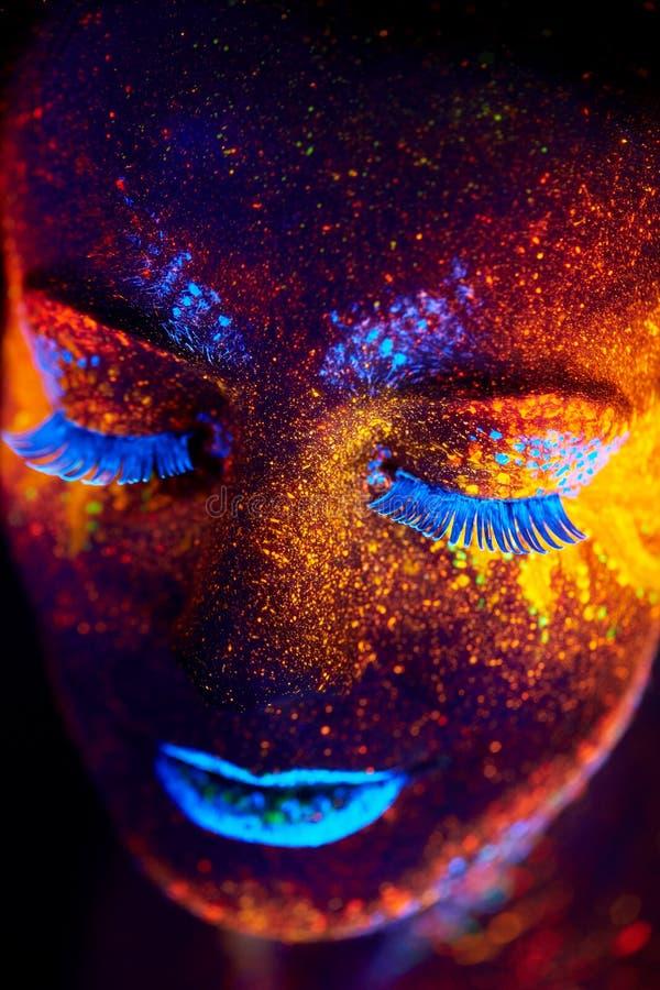 UV stående royaltyfri fotografi