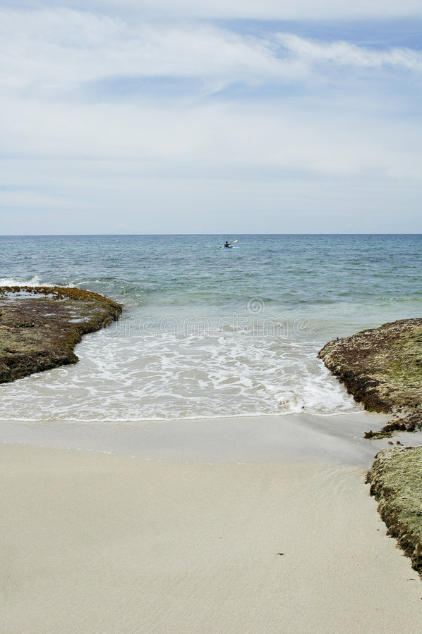 Uva do punta de Caribe fotos de stock