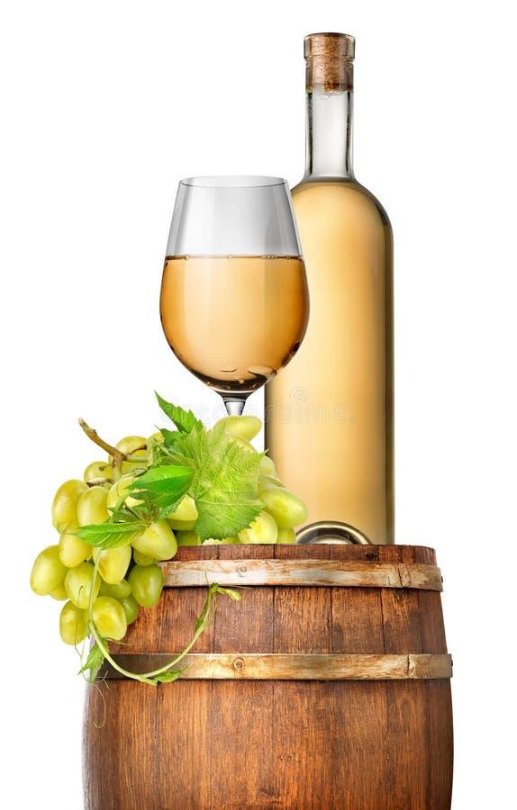 Uva e vinho verdes fotografia de stock royalty free