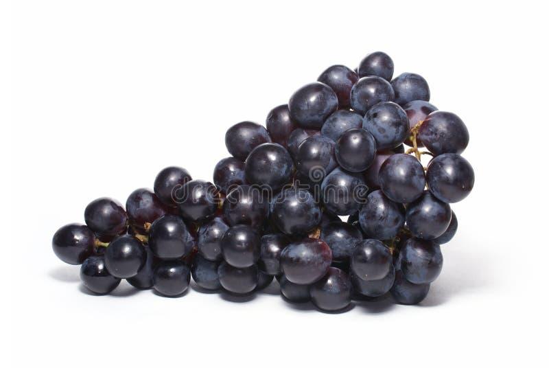 Uva ha isolato su bianco fotografia stock