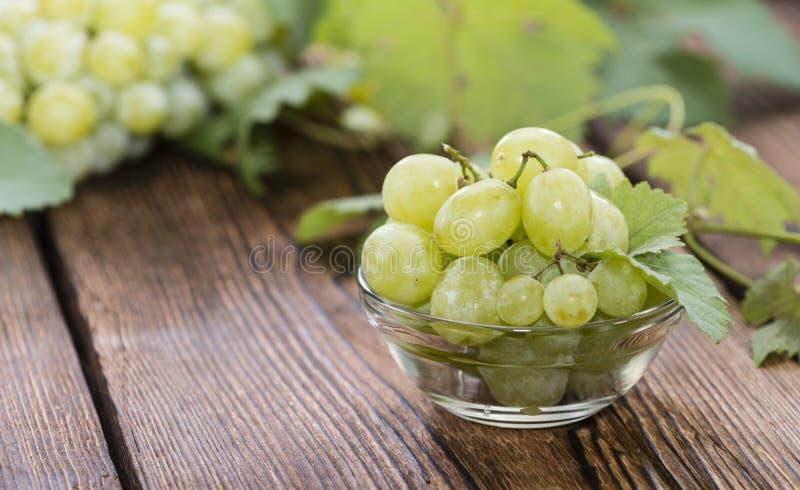 Uva verde fresca fotografie stock libere da diritti