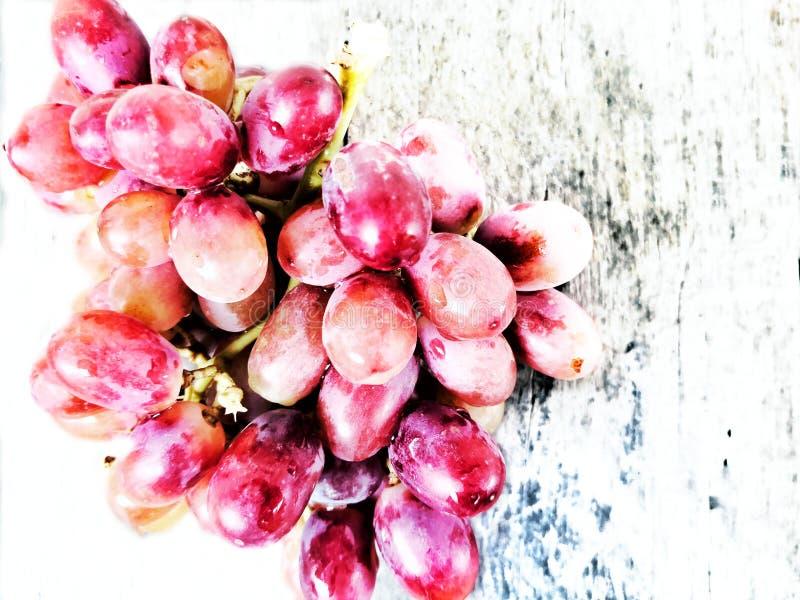 Uvas del ‹del red†del ‹de Fresh†imagen de archivo