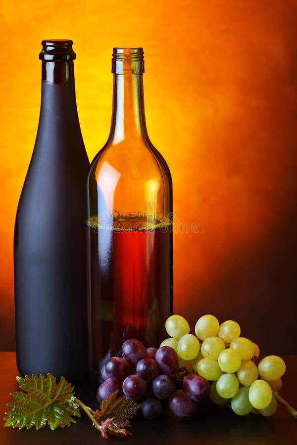 Uvas e vinho fotos de stock royalty free