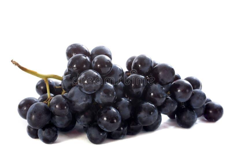 Uvas pretas foto de stock