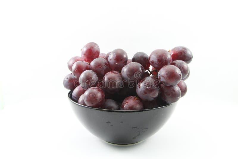 Uvas roxas imagem de stock
