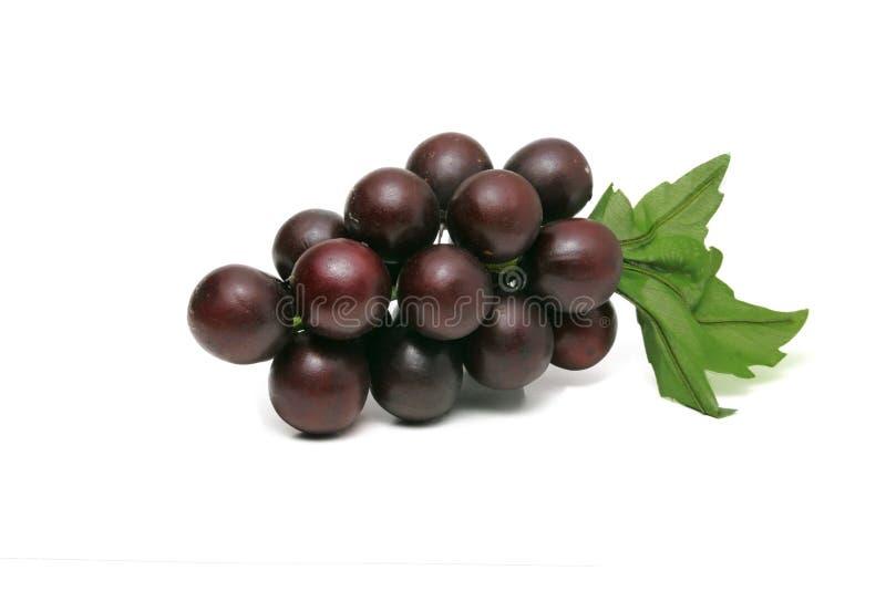 Uvas roxas crescidas em Tail?ndia fotos de stock