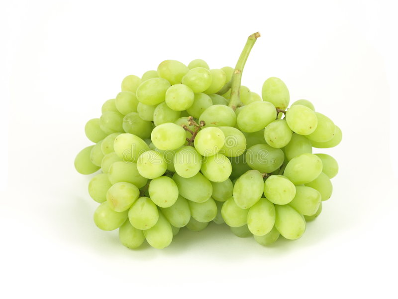 Uvas verdes. fotografia de stock