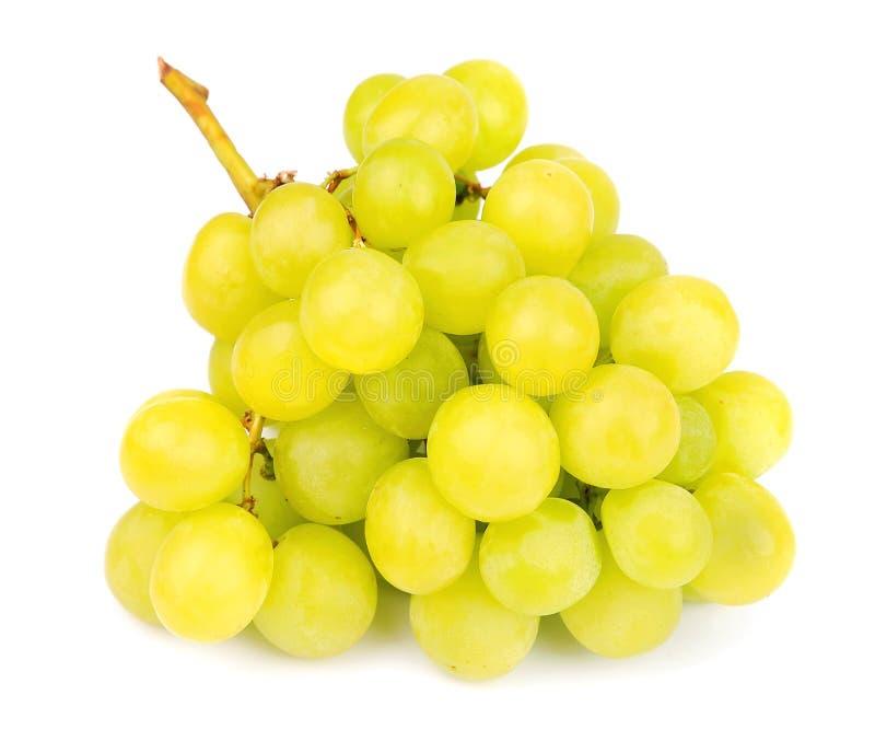 Uvas verdes frescas foto de archivo