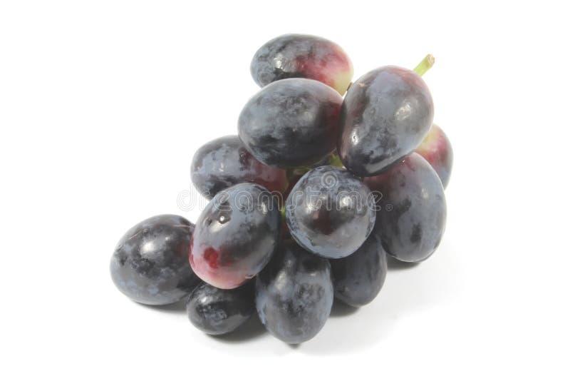 Uvas vermelhas orgânicas e frescas imagens de stock