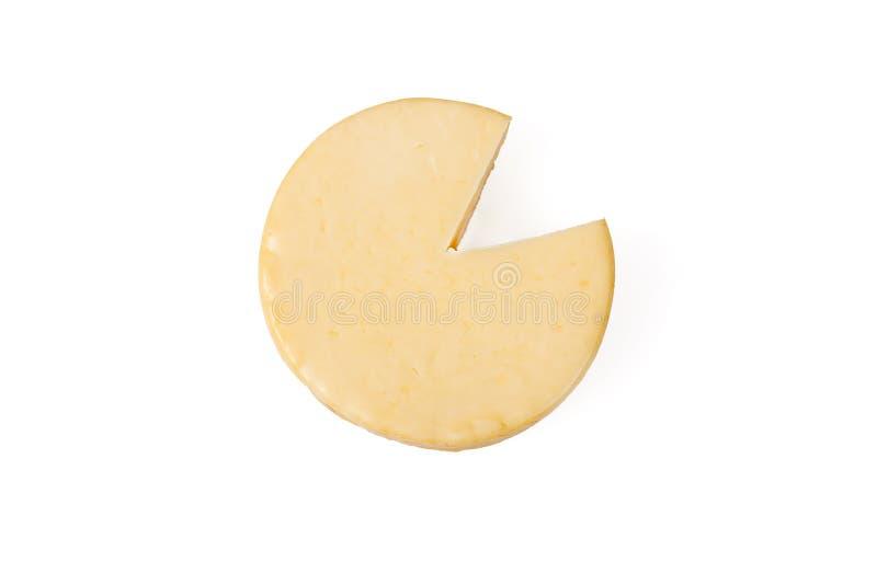 Uwędzony gouda ser zdjęcie stock