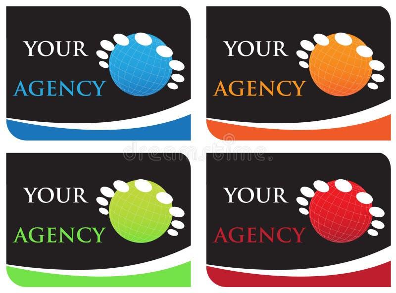 Uw agentschap vector illustratie