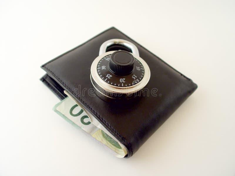 Is uw Brandkast 2 van het Geld stock fotografie