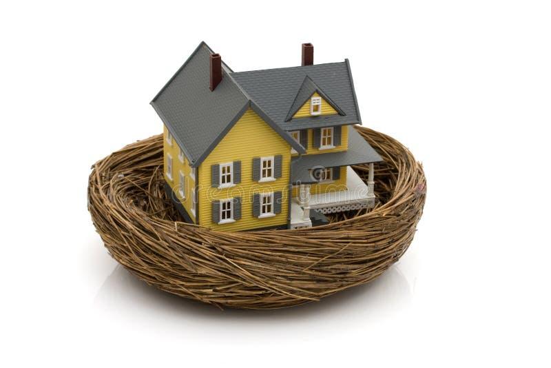 Uw huis is een investering royalty-vrije stock foto