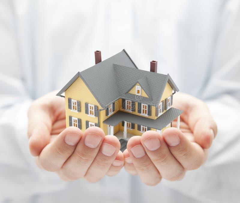 Uw nieuw huis royalty-vrije stock afbeelding