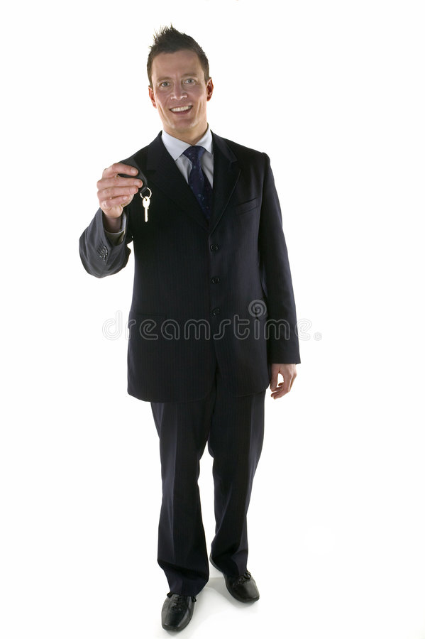 Uw sleutels royalty-vrije stock afbeelding