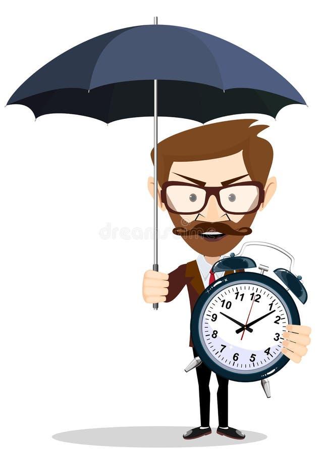 Uw tijdbescherming en optimalisering stock illustratie