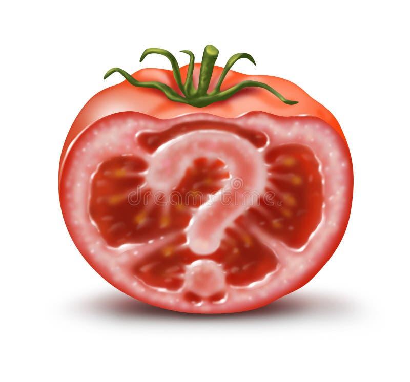 In Uw Voedsel royalty-vrije illustratie