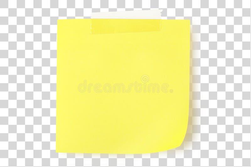 uwaga żółty fotografia stock