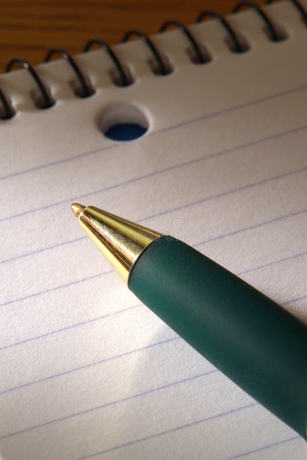uwaga ballpoint opiekuna długopis zdjęcia royalty free