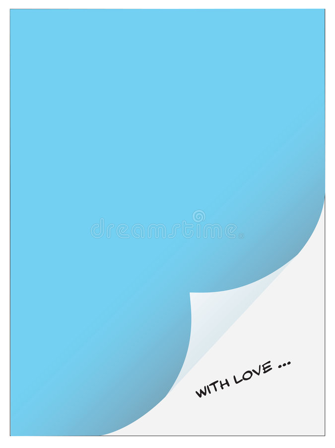 uwaga obrońcą miłości royalty ilustracja
