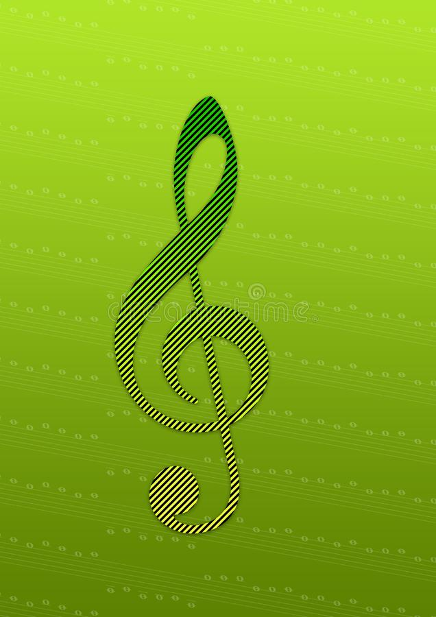uwaga wypasioną muzyki zdjęcia stock