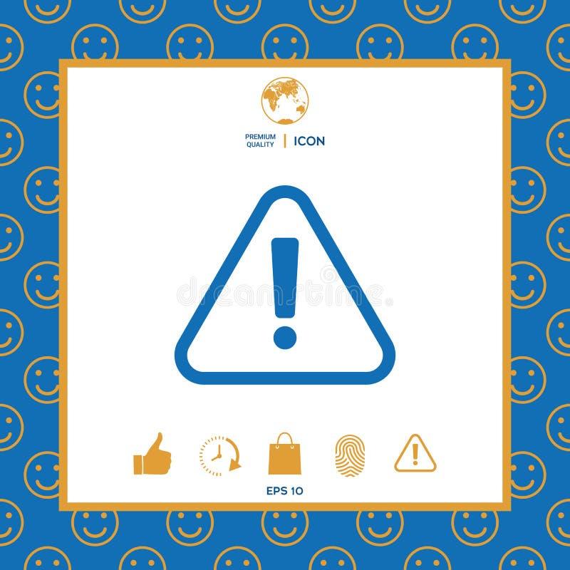 Uwagi ikony symbol royalty ilustracja