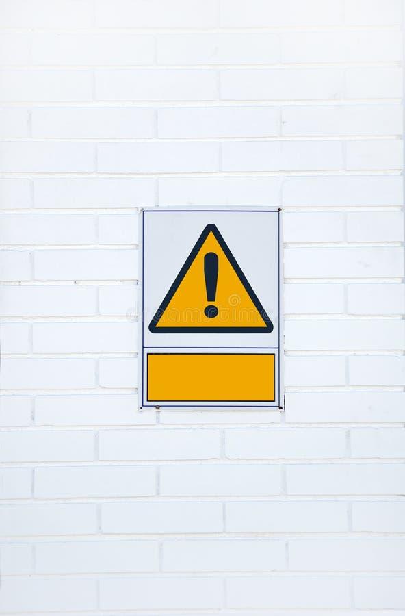 uwagi zagrożenia znaka ostrzeżenie fotografia royalty free