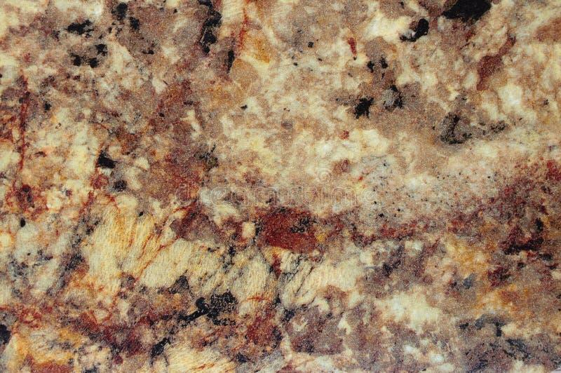 Uwarstwiający panel z imitacja kamienia teksturą jaskrawy brązu kolor zdjęcie stock